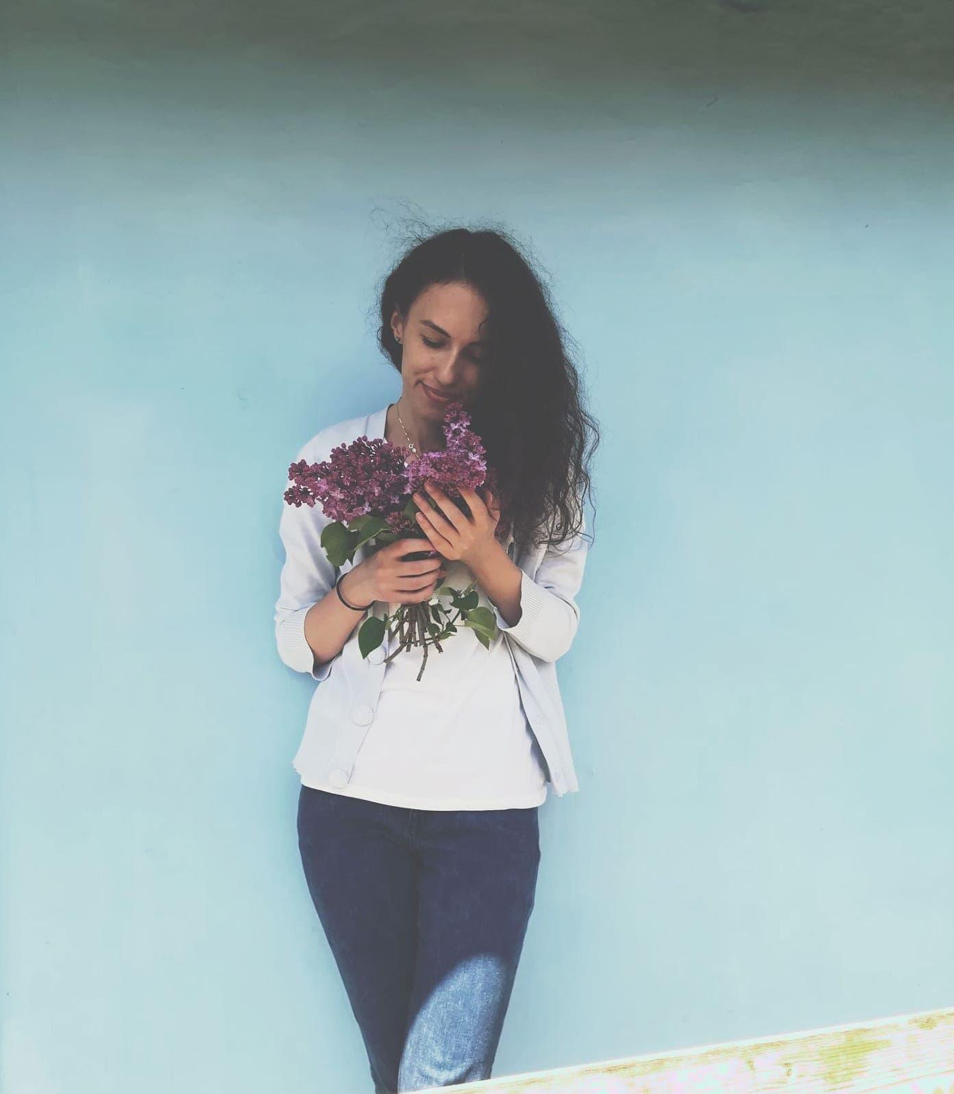 flori din călimară