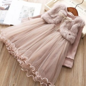 rochie iarna fetite