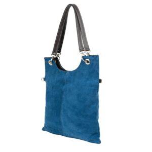 geantă albastră